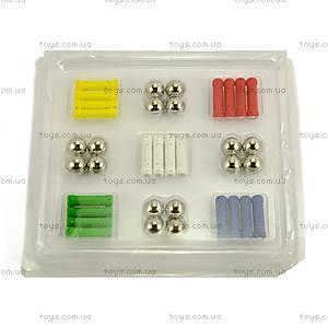 Магнитный конструктор для детей, 60 элементов, MT01301, фото