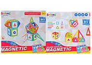 Магнитная игрушка из 34 деталей, 6025