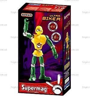 Магнитный конструктор Supermag Ultra biker, 0422
