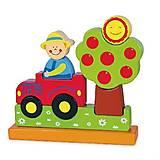 Магнитный пазл Viga Toys «Ферма», 59701, купить игрушку
