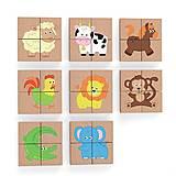 Магнитный пазл Viga Toys «Животные» 32 элемента, 50722, игрушки