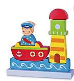 Магнитный пазл Viga Toys «Море», 59704, фото
