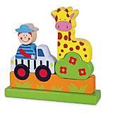 Магнитный пазл Viga Toys «Сафари», 59702, фото