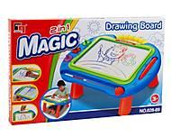 Магнитный столик-доска для рисования «Magic», 628-89, фото
