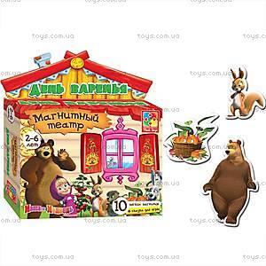 Магнитный театр «День варенья. Маша и Медведь», VT3206-05, детские игрушки