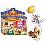 Магнитный театр детский «Курочка Ряба», VT3206-12, фото