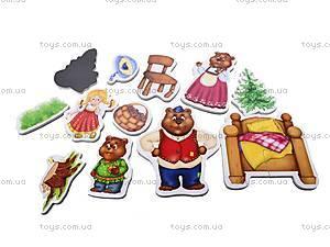 Магнитный театр детский «Три медведя», VT3206-10, купить