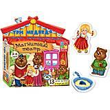 Магнитный театр детский «Три медведя», VT3206-10, тойс