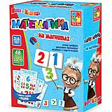 Магнитная игра «Математика» с Машей и Медведем, VT3305-04, купить