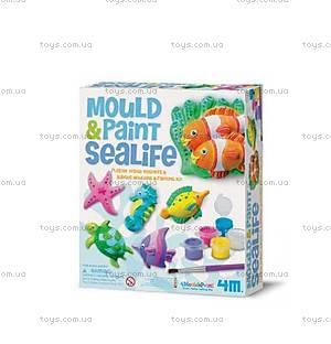 Магниты из гипса «Морской мир», 00-03511