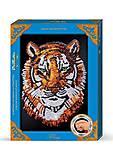 Макси - мозаика из Пайеток «Тигр», Пм-02-04