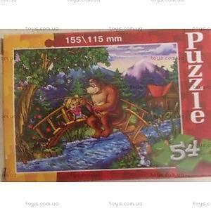Макси-пазлы «Маша и Медведь», 54 элемента, 54, купить