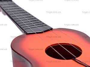 Маленькая игрушечная гитара, 8019A, фото
