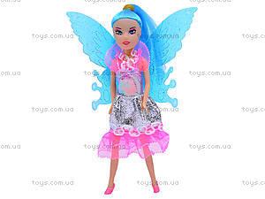 Маленькая кукла «Фея», с крыльями, 2028A