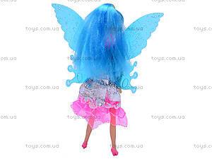 Маленькая кукла «Фея», с крыльями, 2028A, отзывы