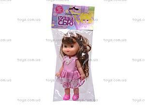 Маленькая кукла «Крошка Сью», 6006, детские игрушки