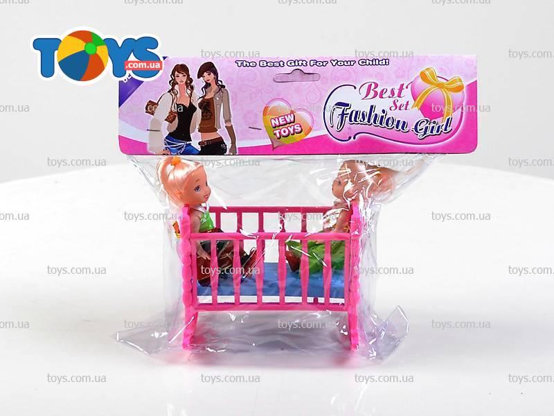 Кроватка для маленьких кукол