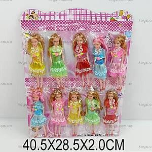 Маленькая кукла, в летнем платье, 2011A