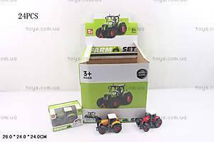 Маленькая металлическая модель «Трактор», SQ90222-4, купить