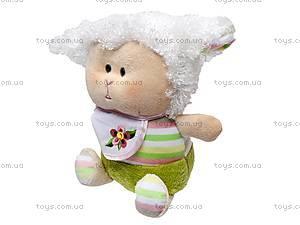 Маленькая плюшевая овечка, К336О, фото