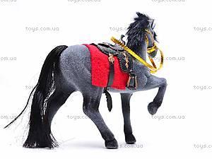 Маленькая велюровая лошадь, 2549-8/9, купить