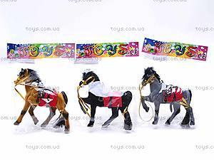 Маленькая велюровая лошадь, 2549-8/9, фото