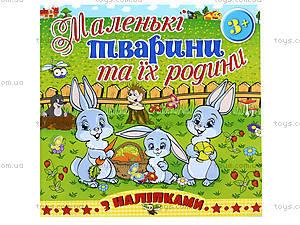 Книга «Маленькие животные и их семьи. Зайчик», 5489, отзывы