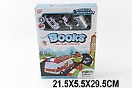 Маленькие заводные машинки с книгой, TH8542B, детский