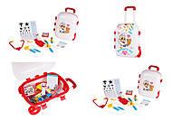 Набор доктора «Doctor's kit», 4753, детские игрушки