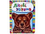 Детская книга «Лесные зверьки», М212006У, купить