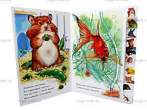 Книжка «Ребятам о зверятах: В доме», М322003Р, фото