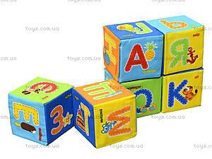 Набор мягких кубиков «Азбука», украинский язык, VT1401-02, купить