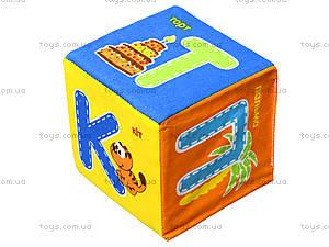 Набор мягких кубиков «Азбука», украинский язык, VT1401-02, фото