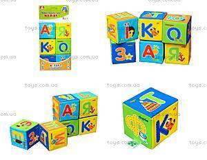 Набор мягких кубиков «Азбука», украинский язык, VT1401-02