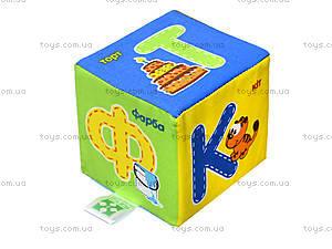 Набор мягких кубиков «Азбука», украинский язык, VT1401-02, цена