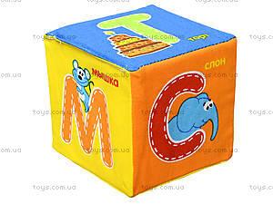 Набор мягких кубиков «Азбука», русский язык, VT1401-01, фото