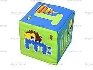 Набор мягких кубиков «Азбука», русский язык, VT1401-01, игрушки