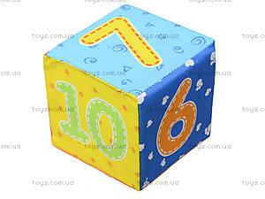 Набор мягких кубиков «Цифры», русский язык, VT1401-03, купить