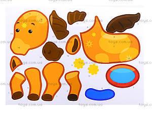 Рисунки с наклеек «Корова», Л900835У, игрушки