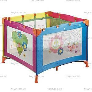 Детский манеж Wonderkids BabyJoy, разноцветный, WK20-H05-003