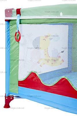 Манеж WonderKids BabyJoy (синий/зеленый), WK20-H05-001, цена