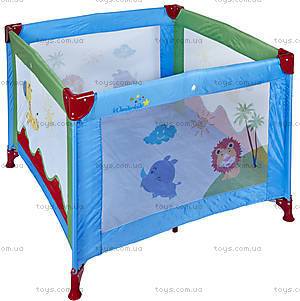 Манеж WonderKids BabyJoy (синий/зеленый), WK20-H05-001
