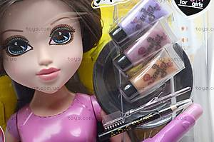 Манекен Moxie, с косметикой, MX898-2B, отзывы