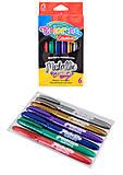 Маркеры Colorino Kids металлизированные, 6 цветов 6 штук, 32582PTR, тойс ком юа
