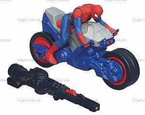 Марвел Человек-Паук с мотоциклом, A6282, купить