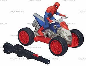 Марвел Человек-Паук с мотоциклом, A6282, фото
