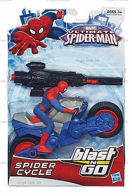 Марвел Человек-Паук с мотоциклом, A6282, отзывы