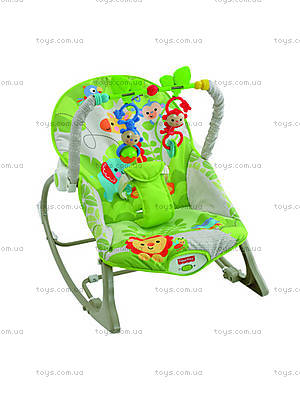 Массажное кресло-качалка «Веселые обезьянки», CBF52