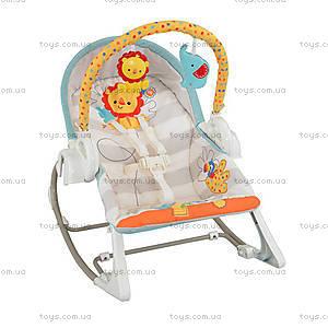 Массажное кресло-люлька «Делюкс» Fisher-Price, BFH07, отзывы