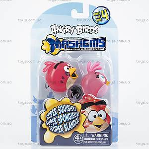 Машемс и рогатка Angry Birds Crystal «Красная и Розовая птички», 50281-S4NRP